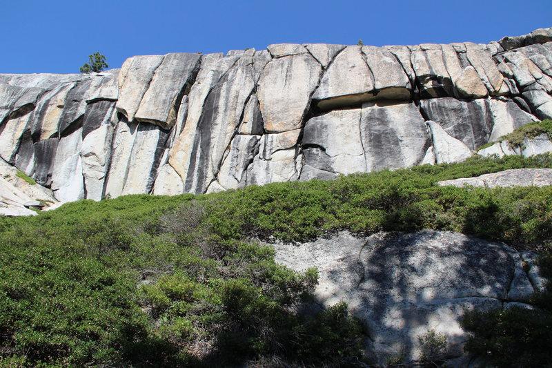 Rock Climbing Photo: Left side of Murphy Creek crag.