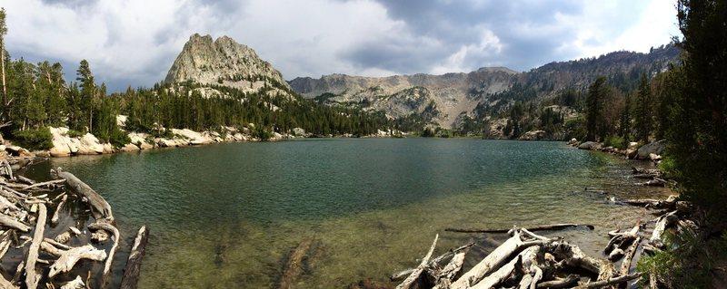 Crystal Crag from Crystal Lake