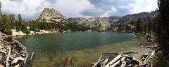 Rock Climbing Photo: Crystal Crag from Crystal Lake