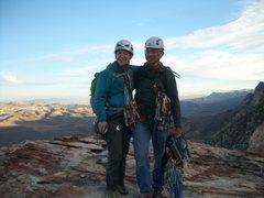 Rock Climbing Photo: at the top