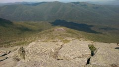 Rock Climbing Photo: As seen from the summit slabs of Wright Peak. Nye ...