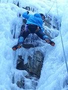 Rock Climbing Photo: going up