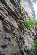 Rock Climbing Photo: Seduction of gravity!