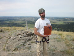 Rock Climbing Photo: First time to Devils Tower, had to sign the log!