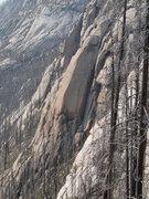 Rock Climbing Photo: Middle Face