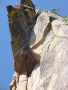 Rock Climbing Photo: Kevin working it out.