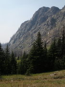 Rock Climbing Photo: East Face from the north (along the trail to Sunny...