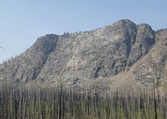 Rock Climbing Photo: East Face of Pick Peak from the NE