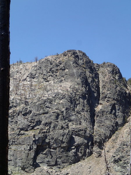 Right Side of the East face