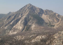 Rock Climbing Photo: Windy Peak from the NE in early August.