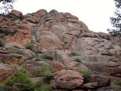 Rock Climbing Photo: The south face of Chicken Head Ranch.