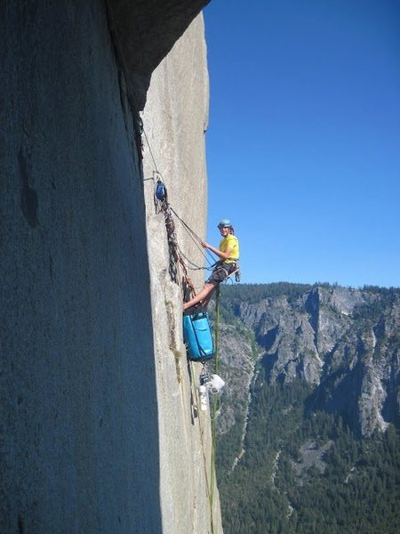 Rock Climbing Photo: hanging out with the pigs at the end of the great ...
