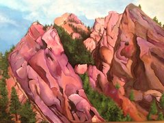 Rock Climbing Photo: Eldo Painting