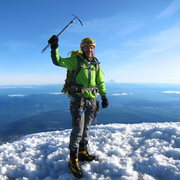 Rock Climbing Photo: Mt. Hood Summit Shot