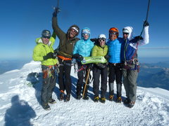 Rock Climbing Photo: Our team on the summit