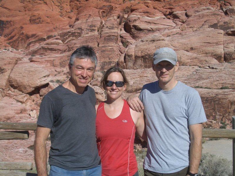 Tom, Candi and me
