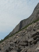 Rock Climbing Photo: Cannon Cliff, Whitney Gilman Ridge is the furthest...