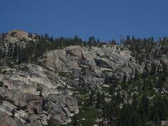 Rock Climbing Photo: The stunning Goldfinger Wall