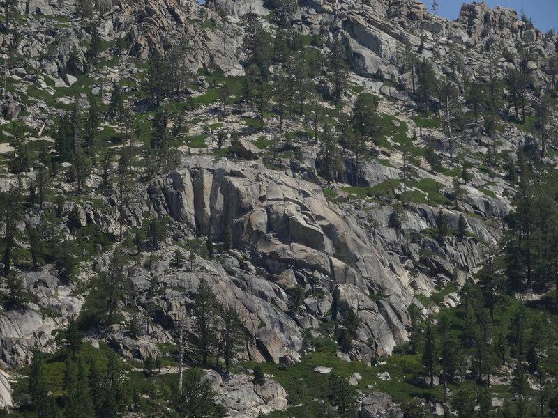 Rock Climbing Photo: Blind Man's Bluff