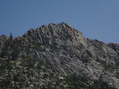 Rock Climbing Photo: The impressive South Face of Flagpole Peak