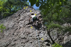 Rock Climbing Photo: Phillip's Second Lead (2 of 3)