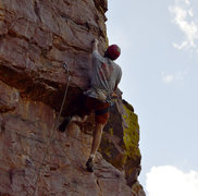Rock Climbing Photo: No White Flag took me a few tries to get the FA. T...