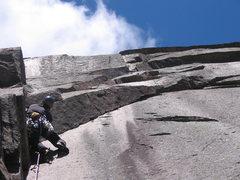 Rock Climbing Photo: yann gauthier on pitch 3