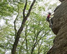 Rock Climbing Photo: Climbing Minimops. Photo credit: Scott