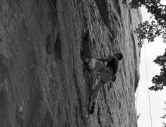 Rock Climbing Photo: Scott on Aerete Paulette.