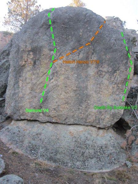 Rock Climbing Photo: Nice fun highball!