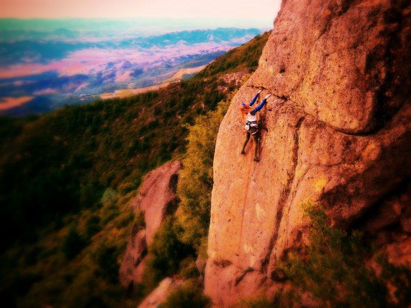 Rock Climbing Photo: Ashley Freeman on BBy Atlas