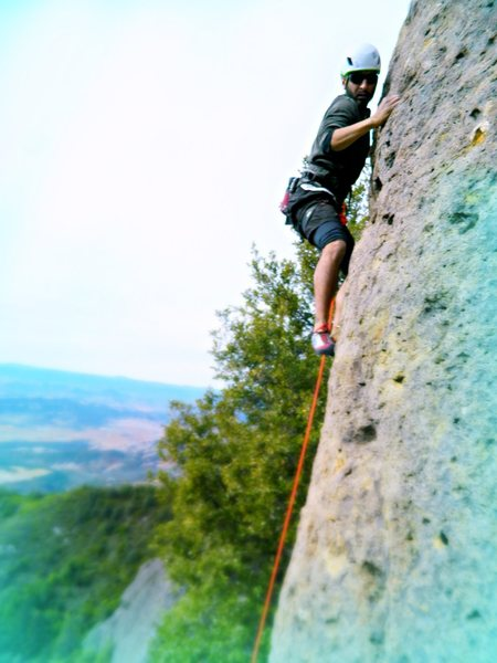 Rock Climbing Photo: Youseff Selenium making the beginning fun stuff ha...