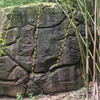 Front of Makaleha Forest Boulder