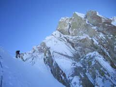 Rock Climbing Photo: The colder and icier the better to keep the rocks ...