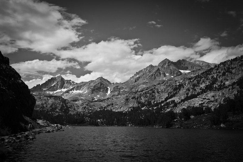 Rock Climbing Photo: Bear Creek Spire from Long Lake