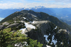 Rock Climbing Photo: The last part of Al's Habrich Ridge Trail, as seen...
