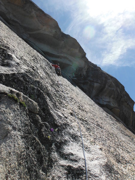 "Rock Climbing Photo: ""I don't like playing this game!""  Mad D..."