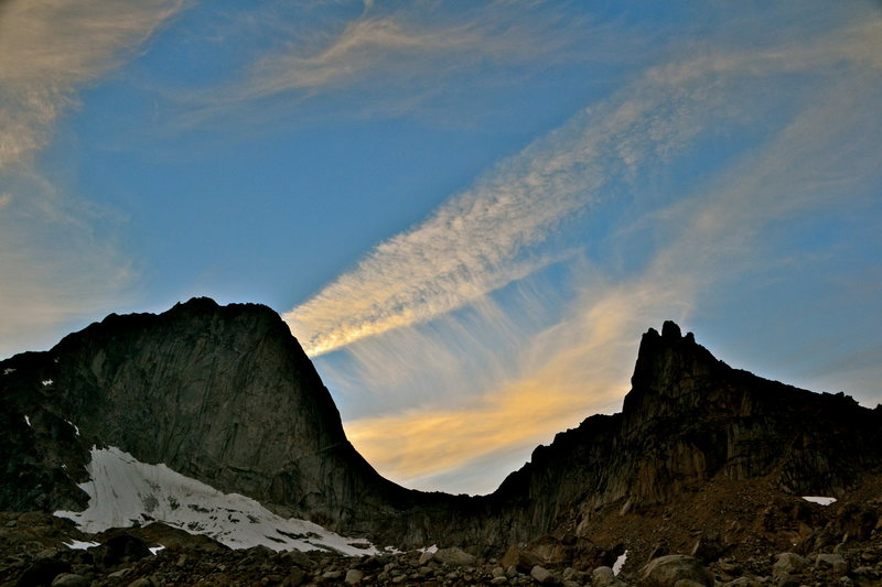 Bugaboo and the Crescent Spires