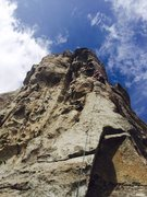 Rock Climbing Photo: Just below one of the crux moves optina