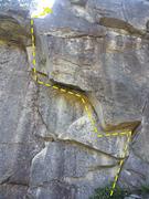 Rock Climbing Photo: Brunser Overhang