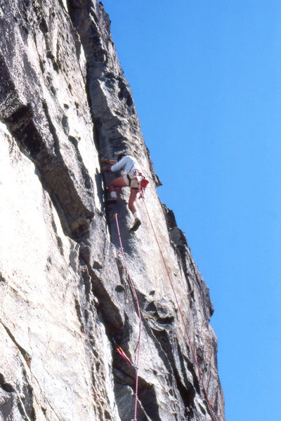 Rock Climbing Photo: Reed Valley, The Inferno, FA Escape From The Lemmi...