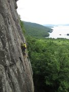 Rock Climbing Photo: Looking across at Gong Show from Snake Charmer.  I...