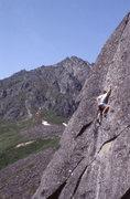 Rock Climbing Photo: The late great Steve Garvey on Possum Kingdom, Sno...