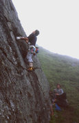 Rock Climbing Photo: Paul Wharton and Steve Garvey. Monolith, Checkered...