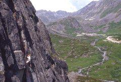 Rock Climbing Photo: Tom Evans on the Webfoot