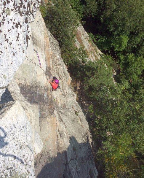 Rock Climbing Photo: Melissa on p2