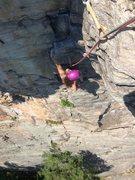 Rock Climbing Photo: Melissa on Strictly