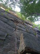 Rock Climbing Photo: Melissa on p1