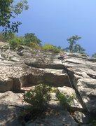 Rock Climbing Photo: Melissa on Wisecrack