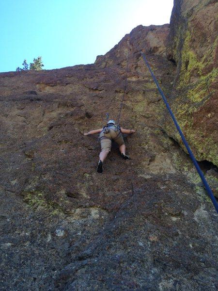 Rock Climbing Photo: Fun climb, good shade.